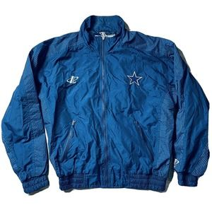 Vintage Dallas Cowboys Pro Line Jacket Windbreaker
